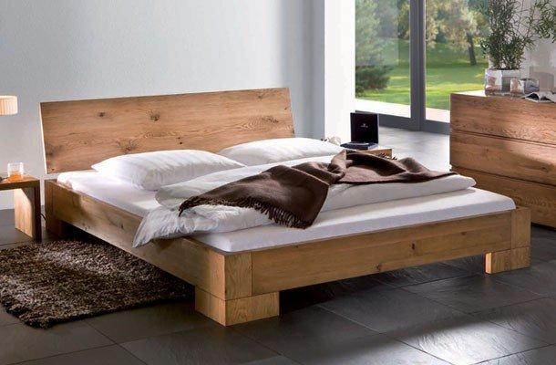 Betten Ratgeber Unterschied Massivholzbett Foto