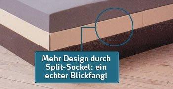 Wasserbett Prestige Comfort Split-Sockel