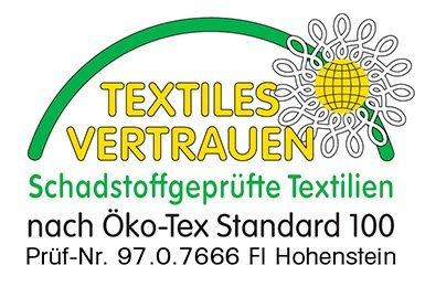 Textiles Vertrauen Schadstoff geprüfte Textilien Siegel