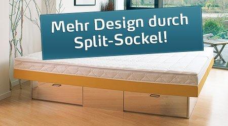 Softside Wasserbetten Split Variante