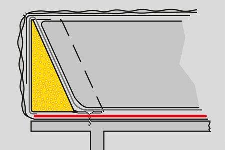 Wasserbettzarge Plus-Zarge Abbildung