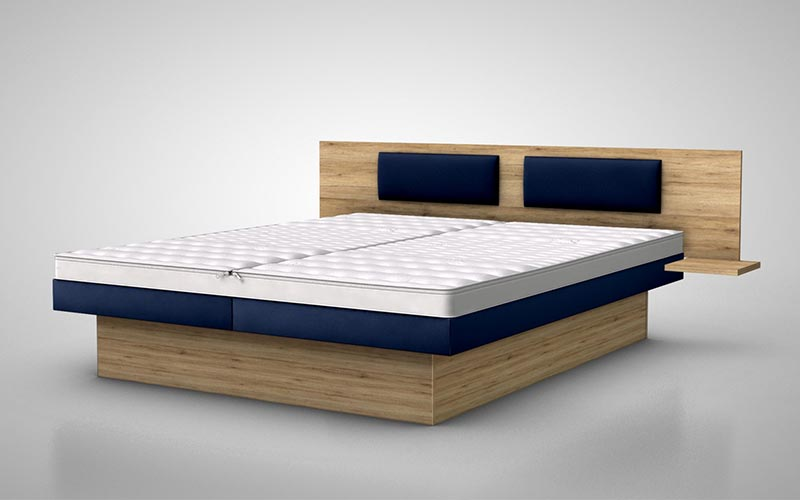 Rückenlehne / Kopfteile SILWA Even mit zwei Kissen für Wasserbetten