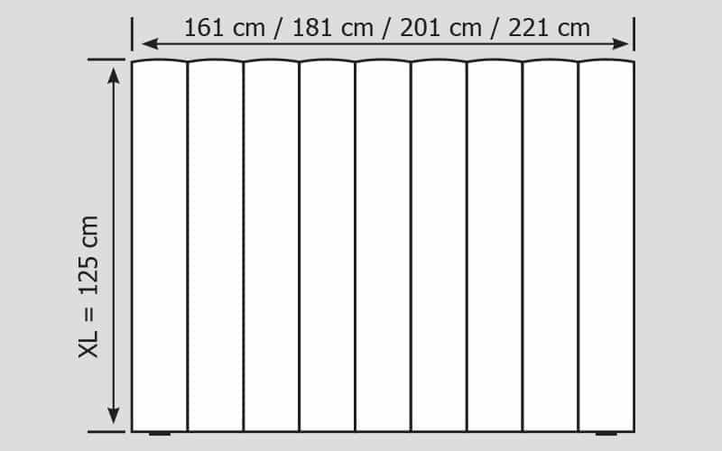 Wandpaneel Colina XL