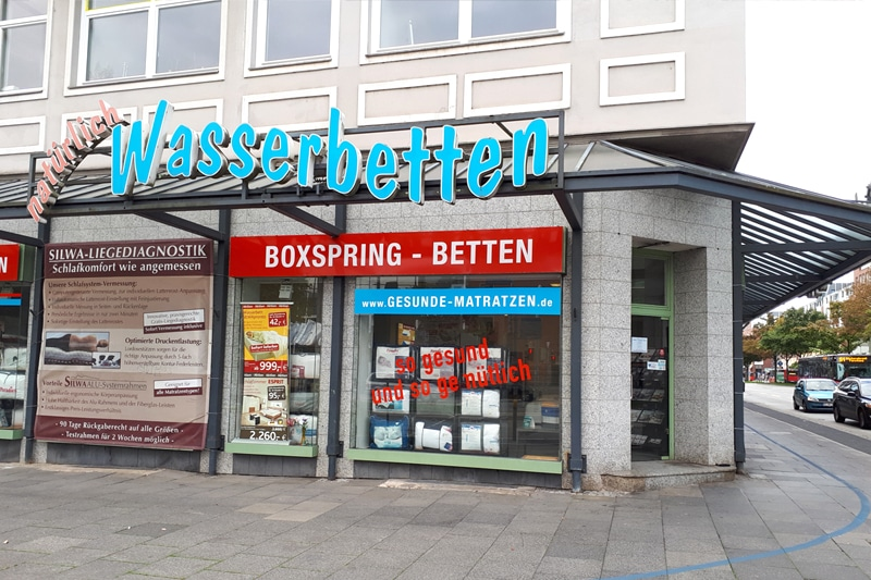 Natürlich Wasserbetten Filiale Kiel